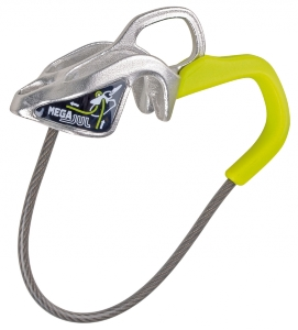 Descendeur assureur autofreinant, 65g, MEGA JUL, EDELRID