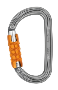 Mousqueton auto-lock key-lock 28 kn Am'D TRIACT-LOCK, PETZL