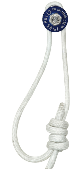 Amarrage en dural 8mm avec 50cm de dyneema, 11 kn, AS, Climbing Technology
