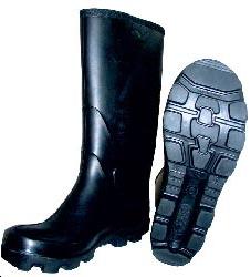 dernières conceptions diversifiées découvrir les dernières tendances design professionnel Botte en caoutchouc noir, non toilée, CLARK, ETCHE SECURITE