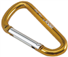 Mousqueton porte clef, 25 kg maximum, 7 x 70 mm, ROCK EMPIRE