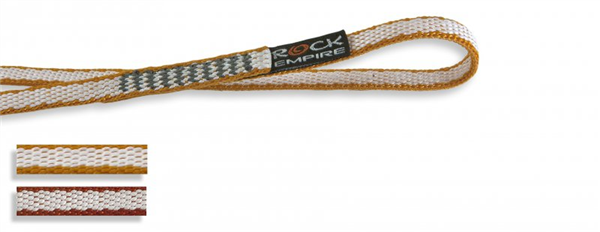 Anneau de sangle dyneema cousue 10mm x 31 cm, EN 566, 22 kn, ROCK EMPIRE