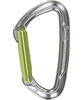 Mousqueton simple doigt droit, couleur, keylock, LIME, CLIMBING TECHNOLOGY