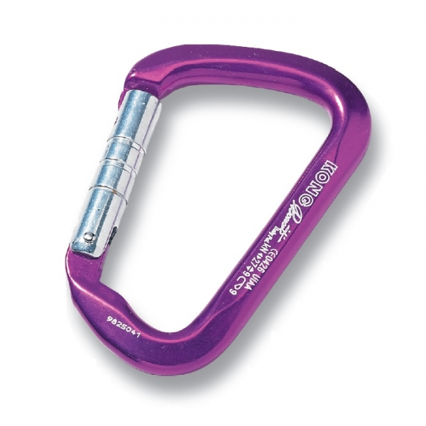 Mousqueton simple large ouverture, 27Kn, n°individuel, LARGE ALU, KONG